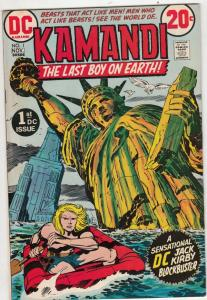 Kamandi the Last Boy on Earth #1 (Nov-72) VF/NM High-Grade Kamandi