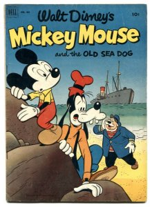 Mickey Mouse- Four Color Comics #411 1952- VG
