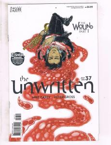 Lot Of 4 Unwritten DC Vertigo Comic Books # 37 38 39 40 Carey & Gross J104