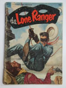 LONE RANGER #62 (Dell, 8/1953)  GOOD (G) Tonto! Classic western comic fun!