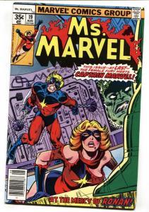 Ms. Marvel #19 1979 COMIC BOOK roanan-captain Marvel- vf-
