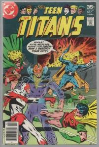 TEEN TITANS (1966) 52 VG-F Dec. 1977