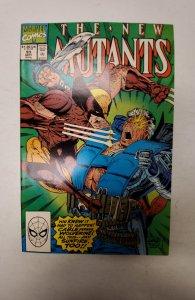 The New Mutants #93 (1990) NM Marvel Comic Book J679