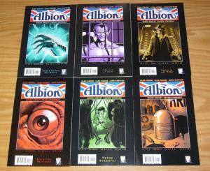 Albion #1-6 VF/NM complete series - alan moore - wildstorm comics set 2 3 4 5