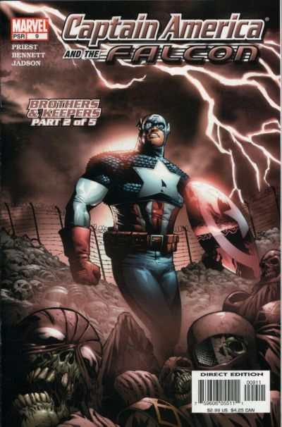 Captain America and the Falcon (2004 series) #9, NM- (Stock photo)