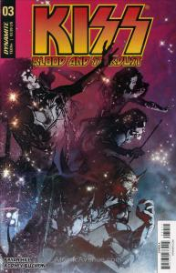 Kiss: Blood and Stardust #3A VF/NM; Dynamite | save on shipping - details inside