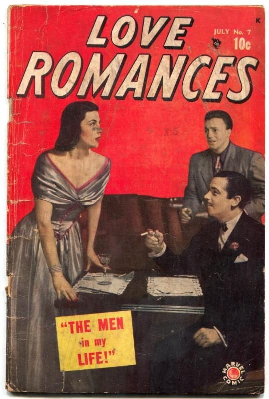 Love Romances #7 1949- Marvel Golden Age- Jack Kamen G