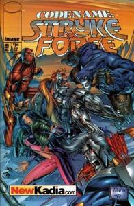 Codename: Stryke Force #9, NM + (Stock photo)