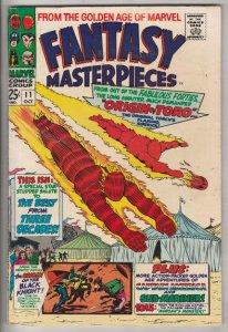 Fantasy Masterpieces #11 (Oct-67) VF High-Grade Captain America, Bucky Barnes...