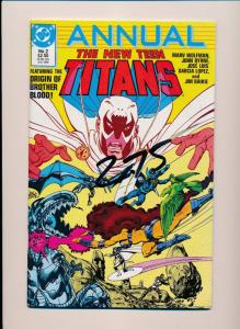 DC The NEW TEEN TITANS ANNUAL 1986 #2  NEAR MINT (SRU661)