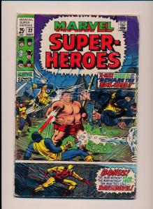 Marvel Super-Heroes DAREDEVIL X-MEN #22 GOOD/VERY GOOD (SRU563)