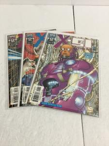 X-51 Machine Man 1-3 Lot Set Run Nm Near Mint Marvel Tech IK