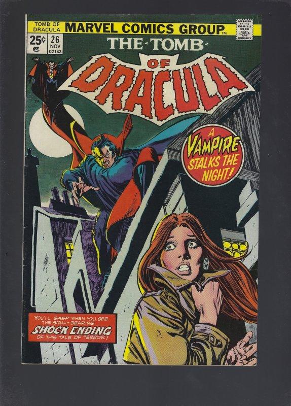 Tomb Of Dracula #26