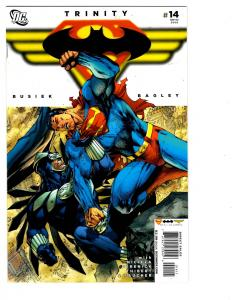 5 Trinity DC Comic Books # 14 18 19 20 21 Superman Batman Wonder Woman JLA BH20