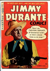 JIMMY DURANTE #2 1948-ME-2ND ISSUE-DICK AYERS ART-WACKY STORIES-vg minus