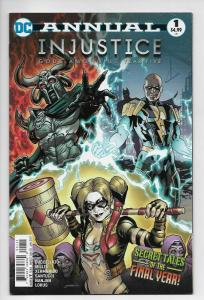 Injustice Gods Among Us Year Five Annual #1 (DC, 2017) VF