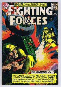 Our Fighting Forces #94 ORIGINAL Vintage 1965 DC Comics