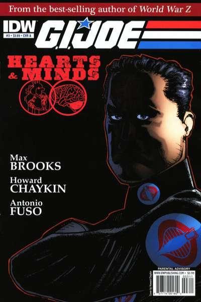 G.I. Joe: Hearts & Minds #3, VF- (Stock photo)