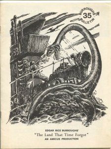 Burroughs Bulletin #35 1974-The Land That Time Forgot-ERB-VF