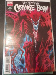 WEB OF VENOM CARNAGE BORN #1 HOT BOOK!