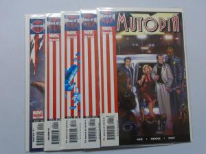 House of M, Mutopia X, Set:#1-5, 1st Print 8.0/VF (2005)