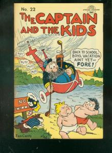 CAPTAIN AND THE KIDS #22 1951-GOLF COVER-KATZENJAMMER   VG