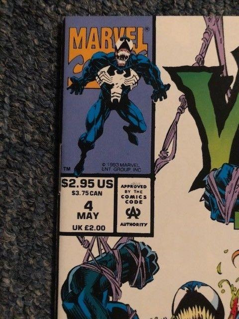 Venom Lethal Protector # 4 (First Scream) Never read NM+