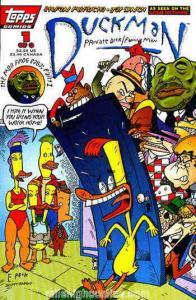 Duckman: The Mob Frog Saga #1 VF/NM; Topps | save on shipping - details inside