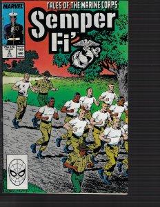 Semper Fi' #8 (Marvel, 1988)