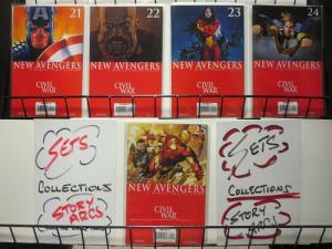 NEW AVENGERS (2005) 21-25  CIVIL WAR