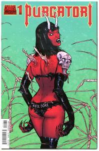 PURGATORI #1 Variant, VF/NM, Vampire, Good Girl, Dynamite, Kyle Strahm, 2014