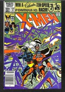 The Uncanny X-Men #154 (1982)
