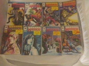 LOT OF 17 VALIANT COMICS 1992 ETERNAL WARRIOR Lot: 1 2 3 5 6 7 9 10 11-19  VF