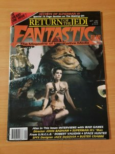 Fantastic Films Magazine #35 ~ VERY FINE VF ~ Sept. 1983 Star Wars Slave Leia!