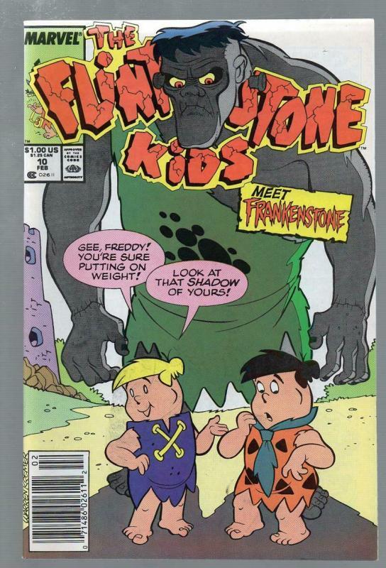 FLINTSTONE KIDS 10 VG-F  Feb. 1989