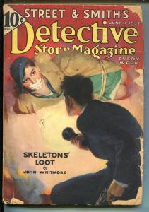 DETECTIVE STORY 6/11/1932-HARDBOILED-BOUND & GAGGED WOMAN-JOHN WHITMORE-good