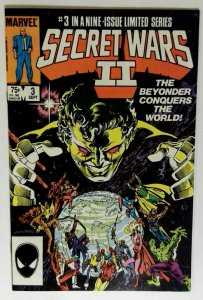 Secret Wars II #3 Marvel 1985 NM VAMPIRE Horror and Sci-Fi Comic Book