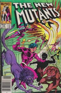 New Mutants, The #16 (Mark Jewelers) VG; Marvel   low grade comic - save on ship