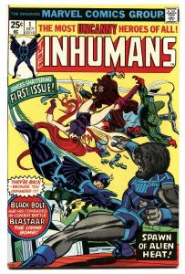 INHUMANS #1-black bolt bronze-age marvel key issue-1975
