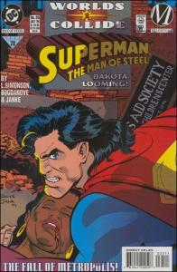 DC SUPERMAN: THE MAN OF STEEL #35 NM