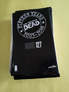 THE WALKING DEAD FIFTEEN YEARS SEALED BAGGED ISSUE #127 2018 IMAGE /  NM