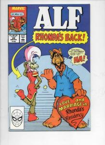 ALF #24, NM,  Marvel, 1988 1989, Rhonda,  more in store
