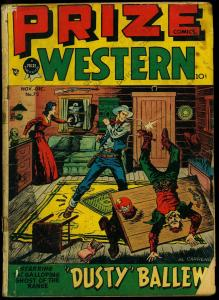 Prize Comics Western #72 1948- Galloping Ghost- Golden Age G