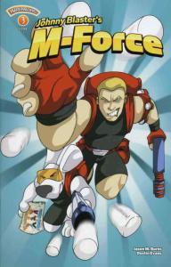 Johnny Blaster's M-Force: The Marshun Menace #3 VF/NM; Marshmallow | save on shi