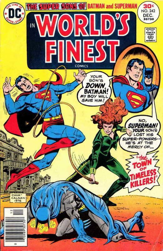 World's Finest Comics #242 FN; DC | save on shipping - details inside