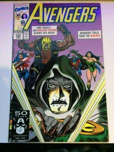 Avengers #333 Doctor Doom Rage 1991 FN+ Marvel 50 Years Captain America