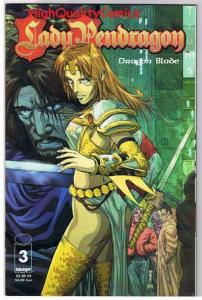 LADY PENDRAGON #3, NM+, Dragon Blade, 1st Alley Cat, 1999, more in store