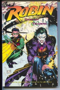 Robin: Tragedy & Triumph-Alan Grant-TPB-trade