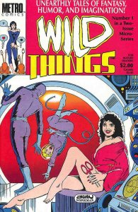 Wild Things #1 VF/NM; Metro | save on shipping - details inside