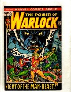 Warlock # 1 VF Comic Book Thor Hulk Avengers GIk Kane Iron Man Power Of RS2